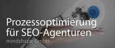 Prozesse: Prozessoptimierung für SEO Agenturen