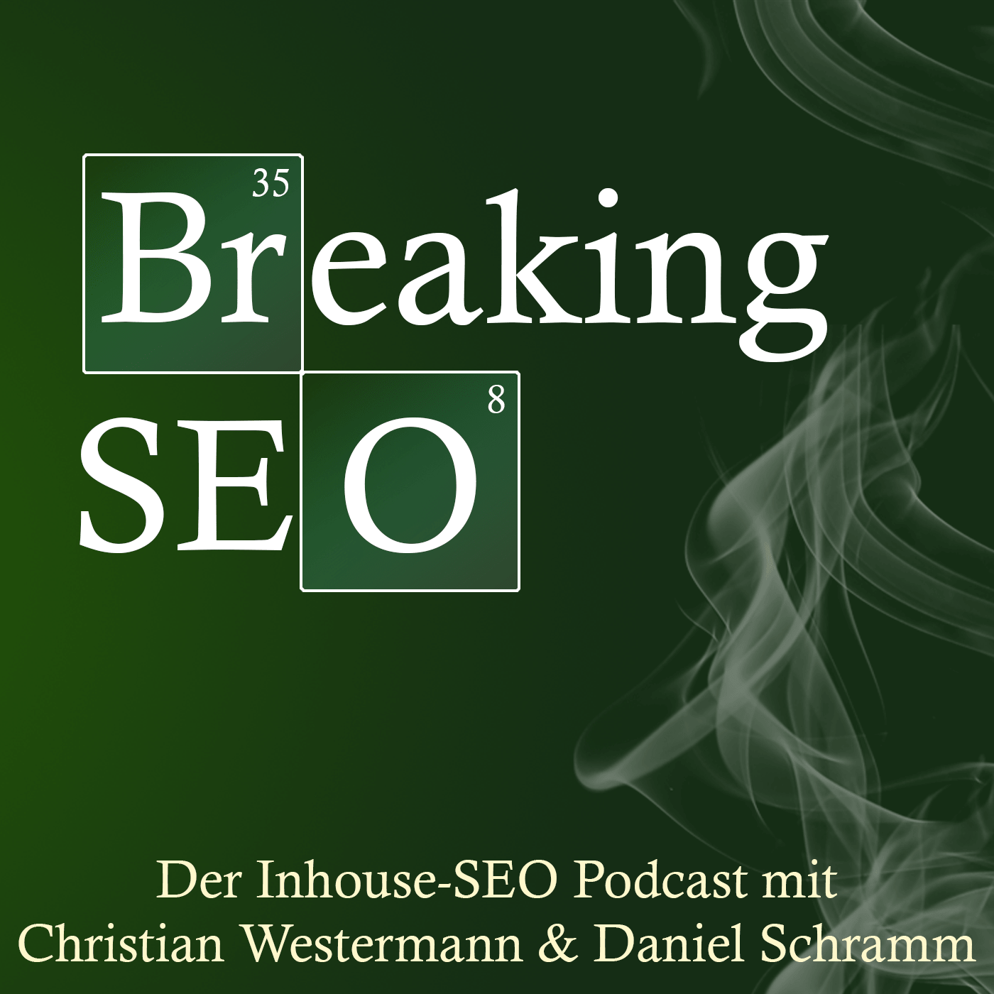 Breaking SEO Inhouse Podcast Logo